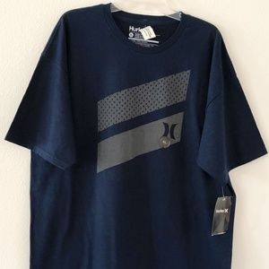 NEW Hurley Mens Tee Navy Blue Size XL